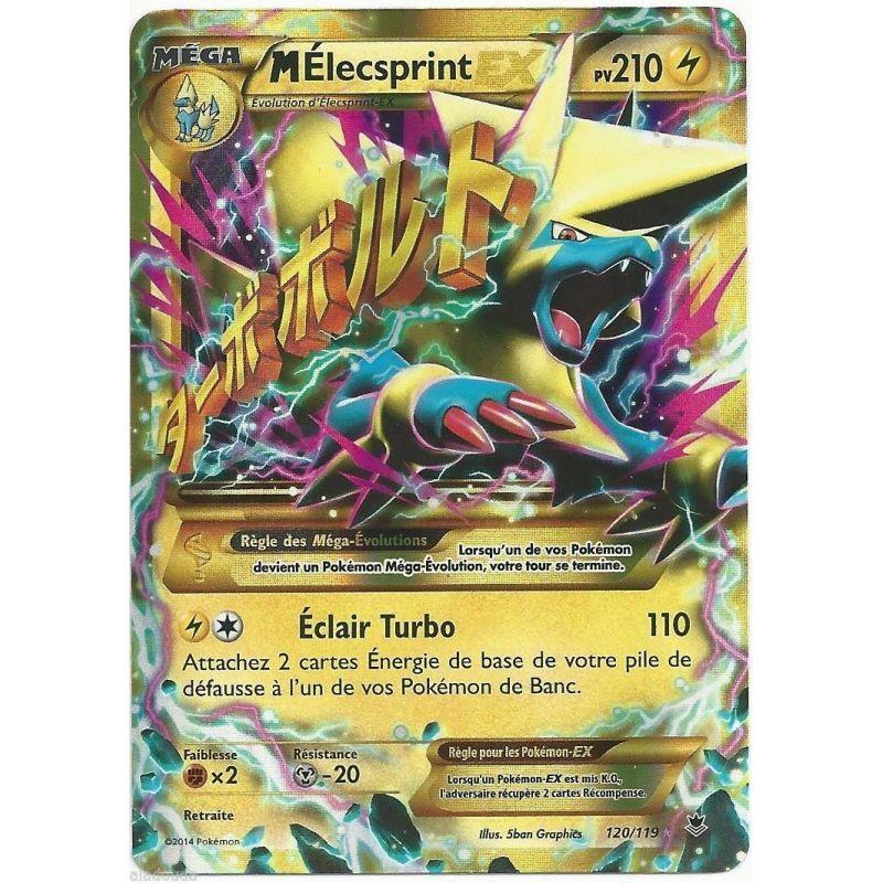 Mega elecsprint ex pv 210 secrete or 120 119 xy 04 carte - Mega elecsprint ...