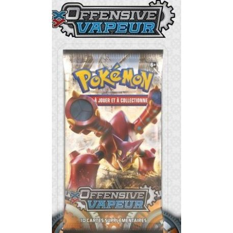 Booster Pokémon XY11 Offensive Vapeur illustration Volcanion