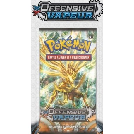 XY11 Booster de 10 cartes Offensive Vapeur illustration Xerneas Turbo