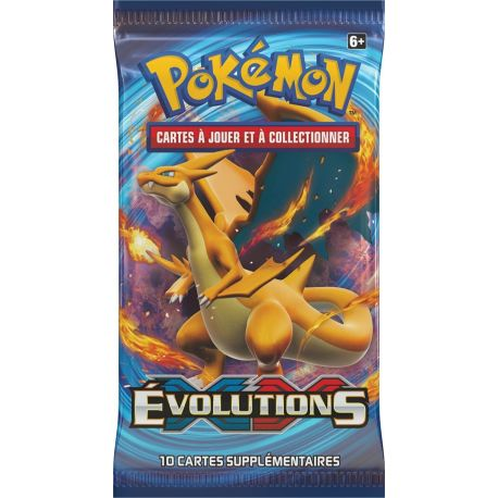 Booster Evolutions XY12 illustration Dracaufeu