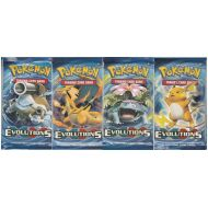 Lot Promo 8 Boosters XY Evolutions 4 illustrations differentes