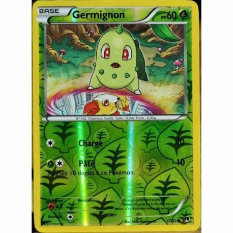 Germignon Pv 60 Carte Reverse Commune - 1/122 - XY09
