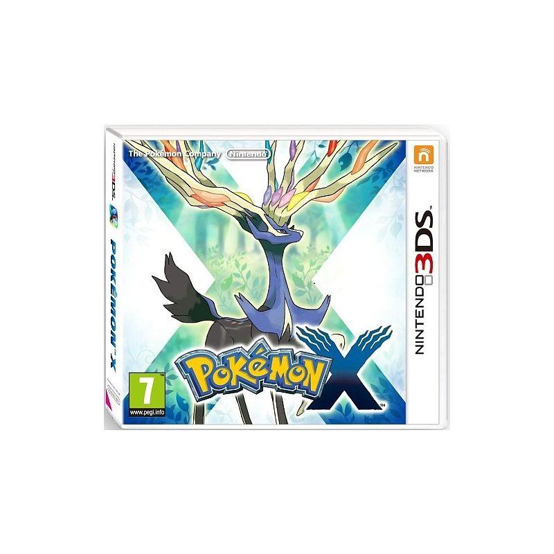 Jeux video pokemon x sur nintendo 3ds - Jeux info pokemon ...
