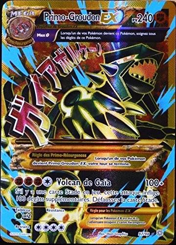 Berühmt Primo-Groudon-Ex pv240 97/98 full art HW11
