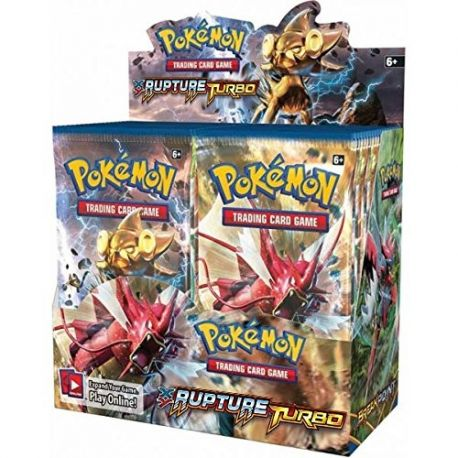 Display 36 boosters XY 09 Rupture Turbo