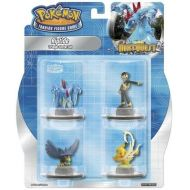 Pokemon next quest Riptide avec Pikachu et Aligatueur 4 figurines