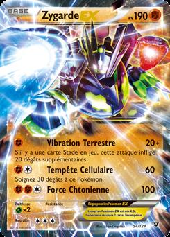 Sehr Zygarde Ex pv 190 - XY10 - 54/124 carte pokémon neuve en français ZB68
