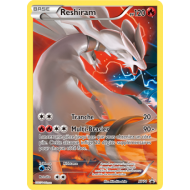 Carte full art XY74 Reshiram pv 120