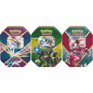 Lot de 3 Pokébox Aout 2016 : Xerneas Ex + Yvetal EX + Zygarde Ex