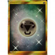 Carte Energie Metal Pokémon Soleil et Lune 1 Secrete Full Art 163/149