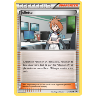 Juliette Carte Peu Commune - 134/162 - XY08