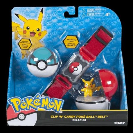 Clip 'N' Carry Poké Ball Belt Pikachu