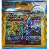Pack 2 Boosters Offensive Vapeur + 1 Pin's Rayquaza