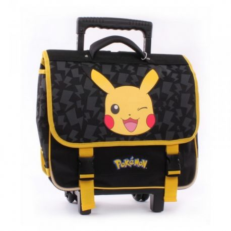 cartable a roulettes pok mon pikachu. Black Bedroom Furniture Sets. Home Design Ideas