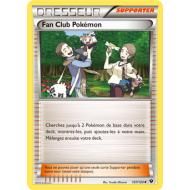 Fan Club Pokémon Carte Peu Commune - 107/124 - XY10