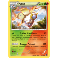 Pyrax Carte Double Energie Rare 110 Pv - 15/114 - XY11