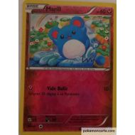 Marill Carte Reverse Commune 60 Pv - 76/114 - XY11