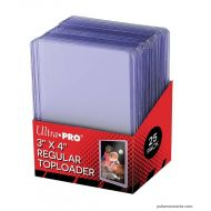 Ultra Pro Toploader regular 3*4 - set de 25