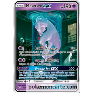 Mewtwo GX Carte Full Art Secrète 190 Pv - SL3.5 - 78/73