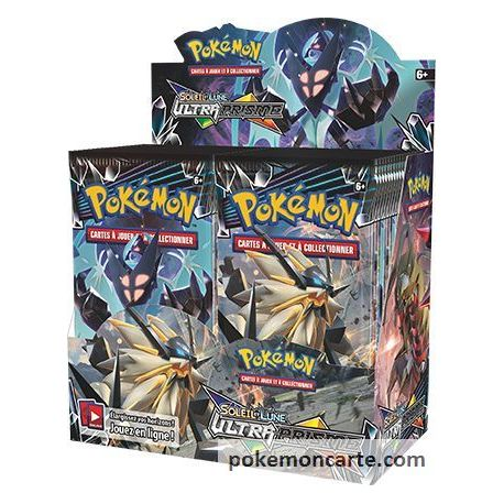 Display Pokemon 36 Booster SL5 Ultra Prisme