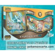 Coffret Pokemon SL 7.5 Majeste des Dragons : Kyurem Blanc Gx