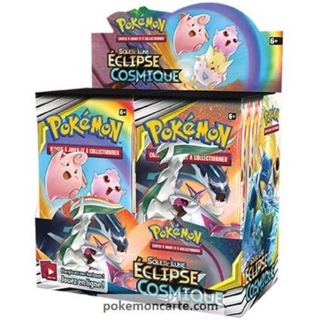 Display Carte Pokémon 36 Boosters SL12 Eclipse Cosmique