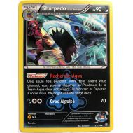 Sharpedo Pv 90 21/34 Carte Rare Holographique Double Danger