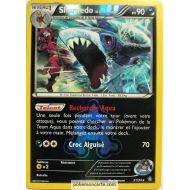 Sharpedo Pv 90 21/34 Carte Rare Reverse Holographique Double Danger