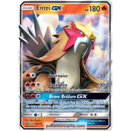 Entei GX Pv 180 10a/73 Légendes Brillantes