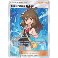 Dresseur Exploration de Leaf Ultra Rare 209/214 Soleil et Lune Alliance Infaillible